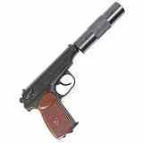 Makarov Baikal 4,5mm CO2 Pistole Vollstahl