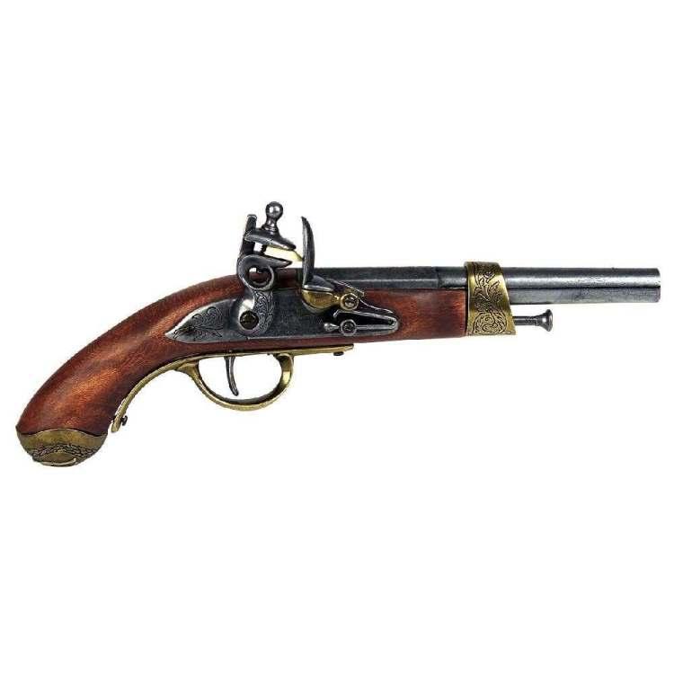 Bild Steinschloss-Pistole Deko Abb. Nr. 1