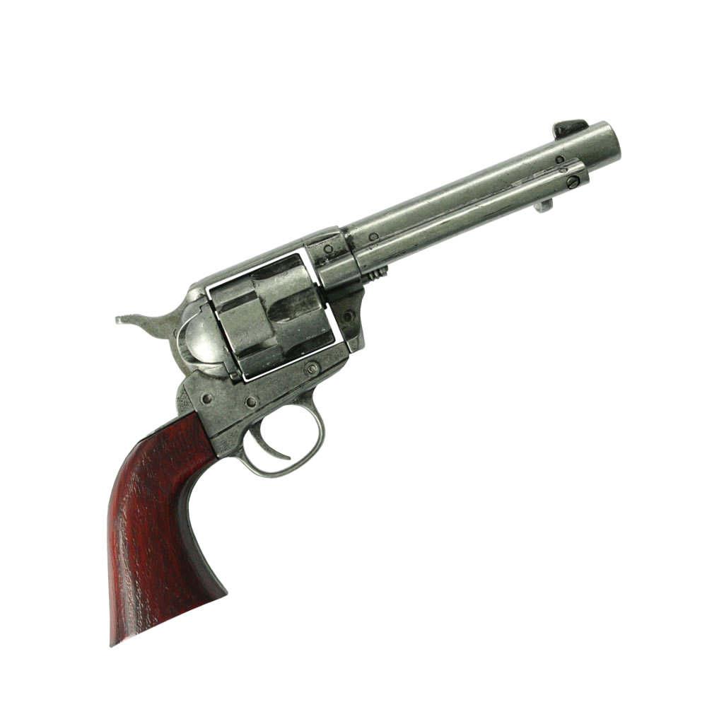 Bild Nr. 02 Revolver mit Patronen Deko