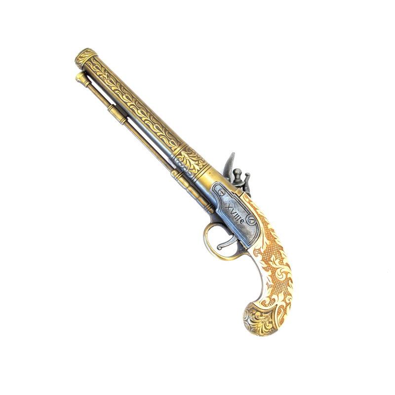 Bild Nr. 02 Duellpistolensatz Zwei Deko Duellpistolen