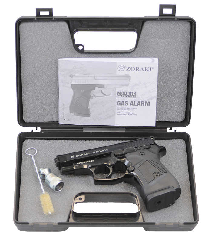 Bild Zoraki Pistole Modell 914 9mm PAK PTB 972 Abb. Nr. 07