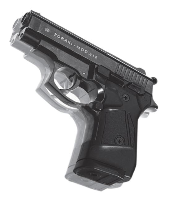 Bild Zoraki Pistole Modell 914 9mm PAK PTB 972 Abb. Nr. 08