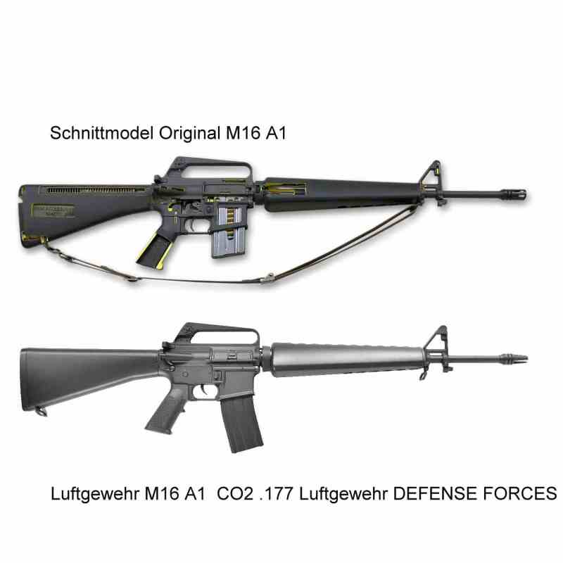 Bild Nr. 10 M16 A1 US Sturmgewehr CO2 .177 4,5mmBB Luftgewehr