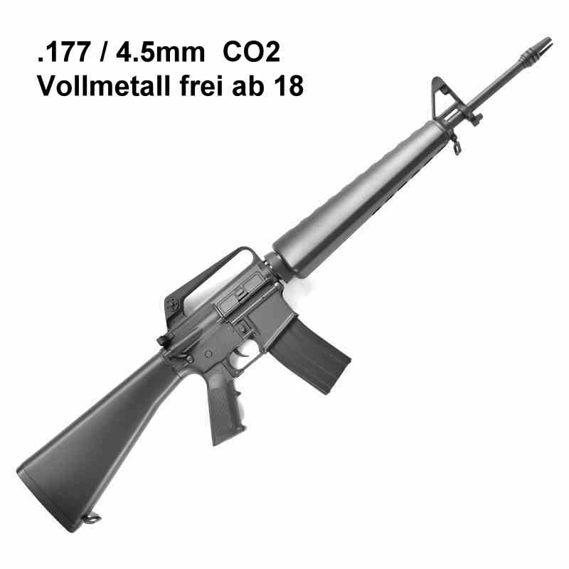 Bild Nr. 13 M16 A1 US Sturmgewehr CO2 .177 4,5mmBB Luftgewehr