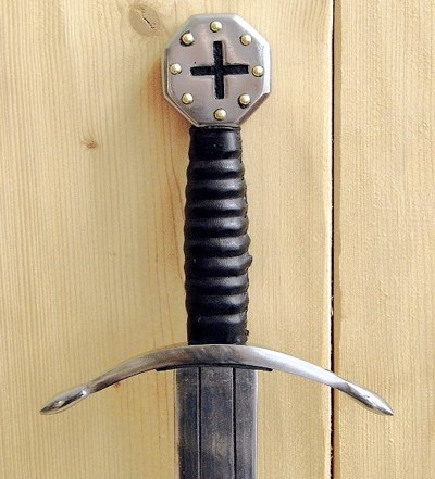 Bild Nr. 08 Kreuzritter Schaukampfschwert