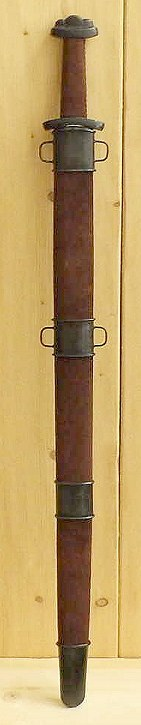 Bild Nr. 04 Wikinger Schaukampfschwert (Wildleder/Antik)