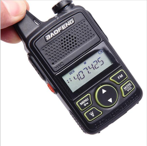 Bild Nr. 05 Baofeng BF-T1 Mini Walkie Talkie