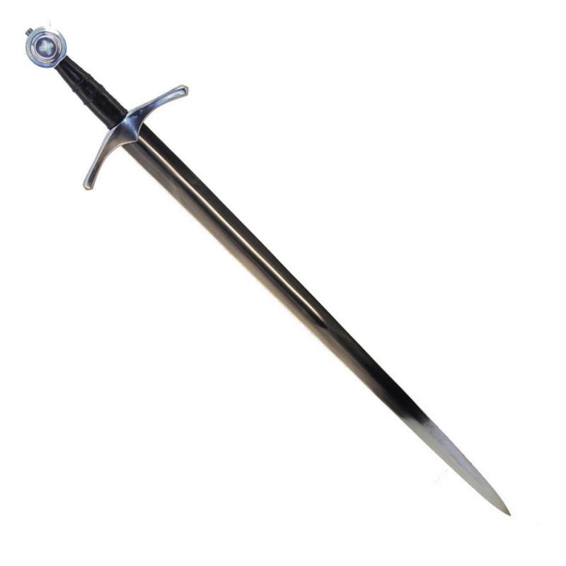 Bild Ritterschwert mit historischem Schwertgehänge Abb. Nr. 1