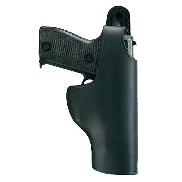 Bild Universal Pistolenholster Leder schwarz AKAH ESCORT Abb. Nr. 1