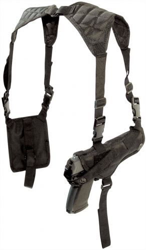 Schulterholster Cordura Crossman +2Mag.Taschen