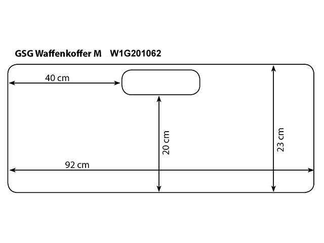Bild Nr. 02 Waffenkoffer 96x25