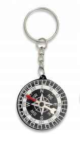 Kleiner Kompass mit Schlüsselring