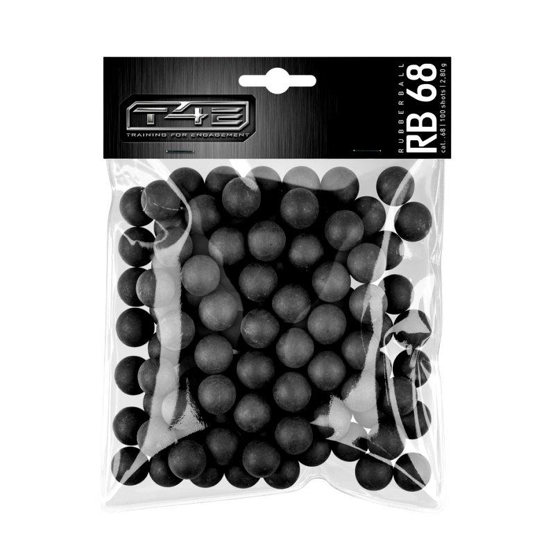 Bild T4E RB 68 Rabberballs Gummikugeln Kaliber .68 Abb. Nr. 1
