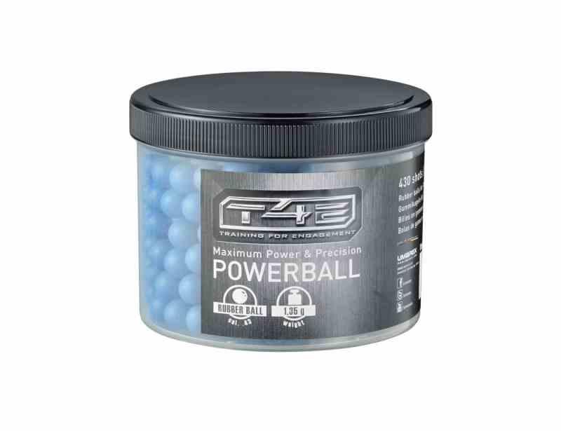 Powerballs cal.43 Gummigeschosse
