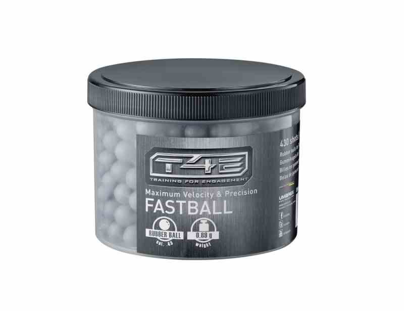 T4E Fastballs cal.43 Rubber-Balls