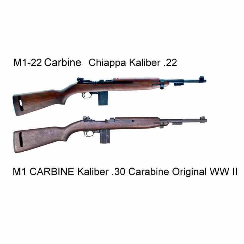 Bild Nr. 04 M1 Carbine M1-22 .22lfB Karabiner Holzschaft