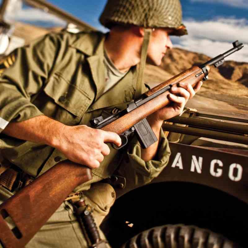 Bild Nr. 06 M1 Carbine M1-22 .22lfB Karabiner Holzschaft