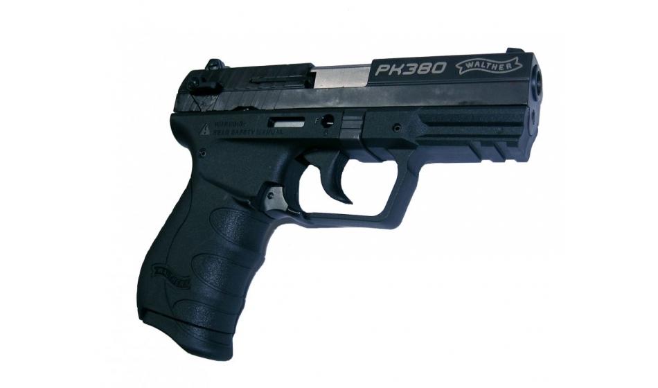 Bild Nr. 02 Pistole Walther PK380 schwarz 9 mm kurz + Holster