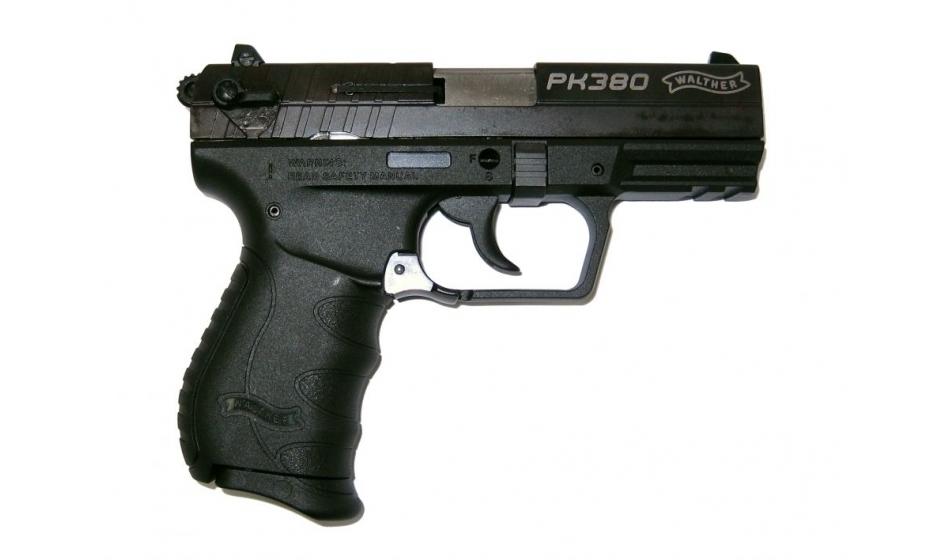 Bild Nr. 03 Pistole Walther PK380 schwarz 9 mm kurz + Holster