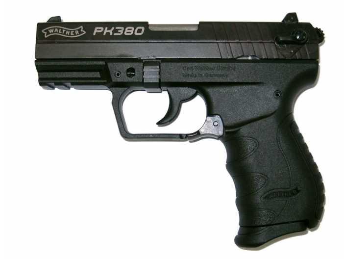 Bild Nr. 04 Pistole Walther PK380 schwarz 9 mm kurz + Holster
