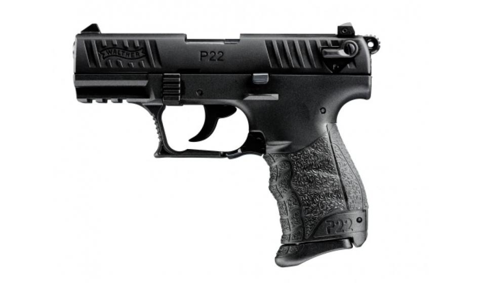 Bild Walther P22Q schwarz Selbstladepistole .22 lfb Abb. Nr. 1