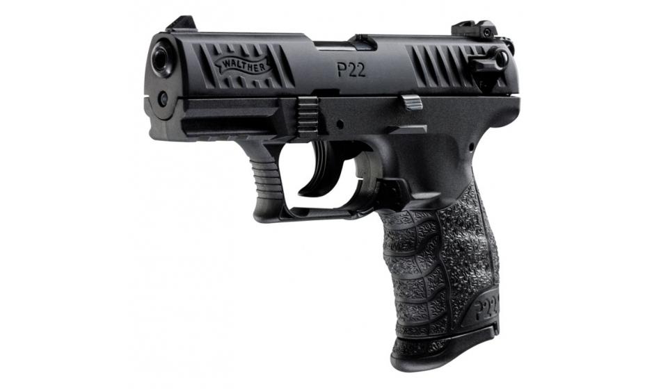 Bild Nr. 02 Walther P22Q schwarz Selbstladepistole .22 lfb