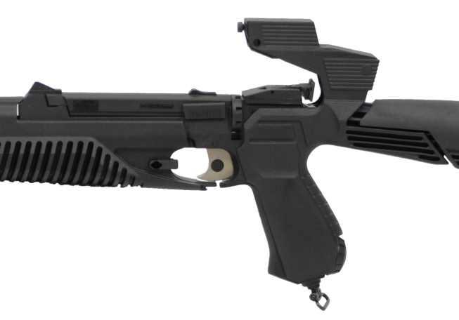 Bild Nr. 06 CO2 Luftgewehr-Kombi 4,5mm MP-651K
