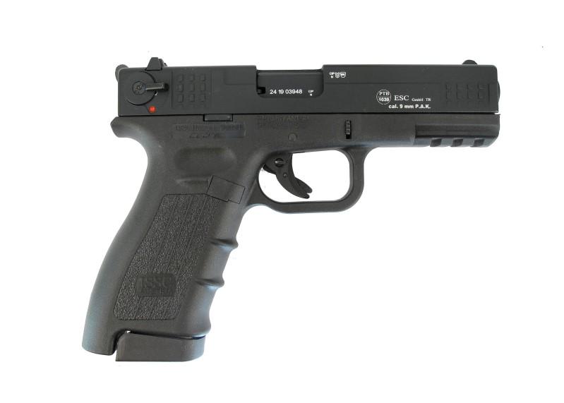 Bild Nr. 02 ISSC M22-9 Schreckschusspistole 9mm PA