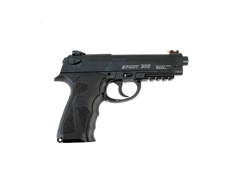 Bild Nr. 02 CO2-Pistole Borner SPORT 306 SET EXTRA