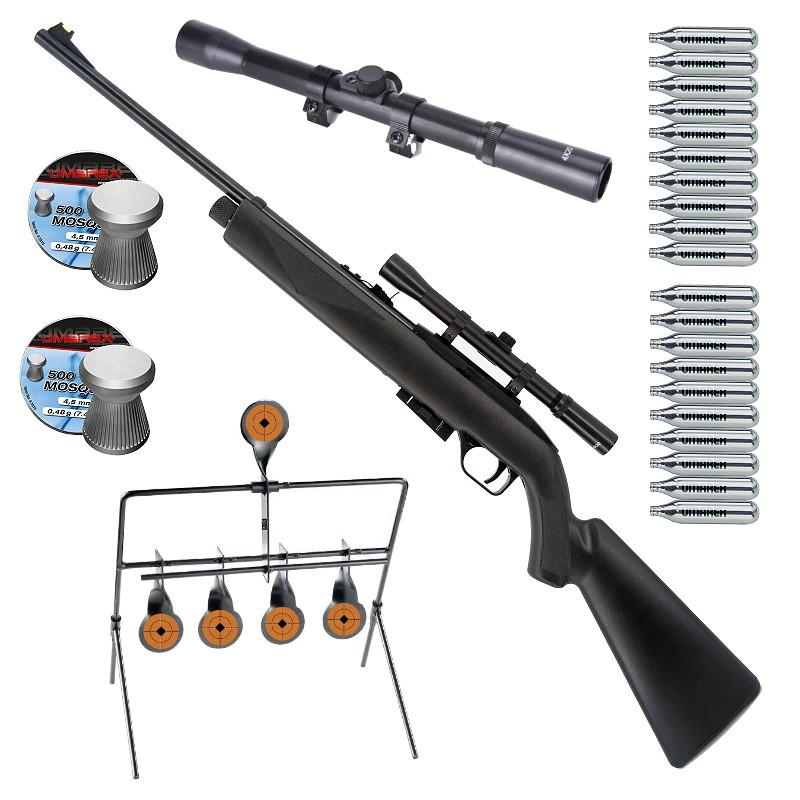 LG 1077 Crossman CO2 Gewehr Maxi-Set