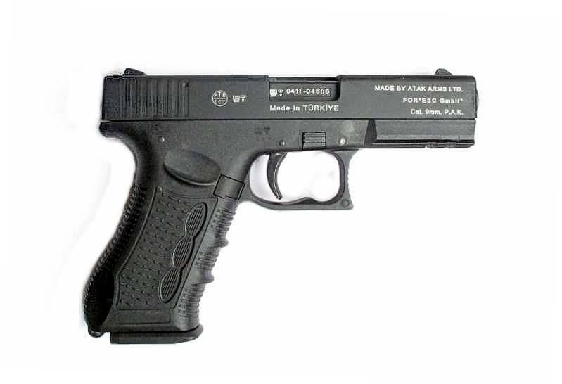 ZORAKI 917 GAS Schreckschuss Pistole