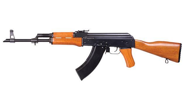 Bild AK 47 4.5mm CO2 Kalashnikov Vollmetall Holz Abb. Nr. 1