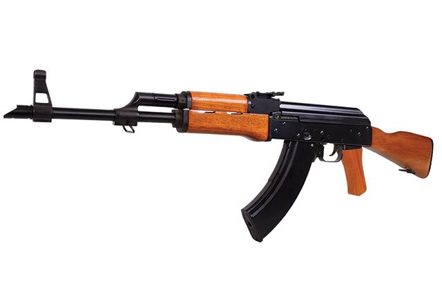Bild Nr. 05 AK 47 4.5mm CO2 Kalashnikov Vollmetall Holz