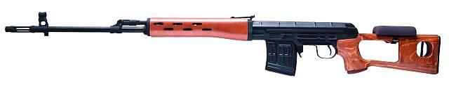 Scharfschützengewehr Dragunov SVD inkl. Akku+Lader