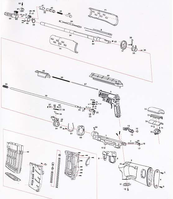 Bild Nr. 06 Scharfschützengewehr Dragunov SVD inkl. Akku+Lader