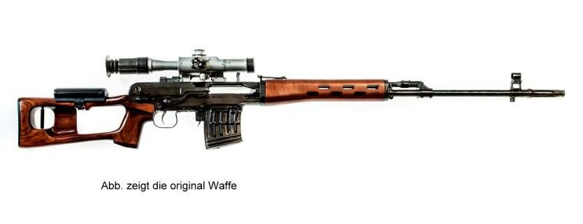 Bild Nr. 09 Scharfschützengewehr Dragunov SVD inkl. Akku+Lader