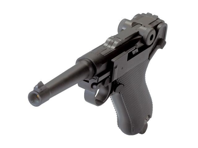 Bild Nr. 02 Pistole Luger P 08 6mmBB Vollmetall Kniegelenk frei ab 18