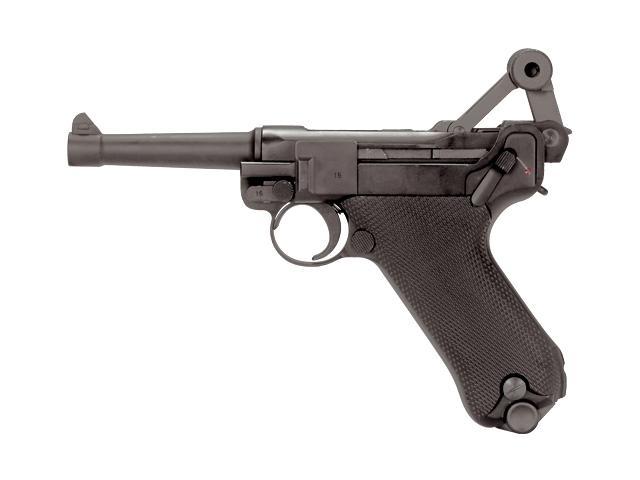 Bild Pistole Luger P 08 6mmBB Vollmetall Kniegelenk frei ab 18 Abb. Nr. 03