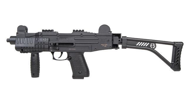 Bild Ekol ASI mit Klappschaft Schreckschuss-Maschinenpistole Abb. Nr. 1