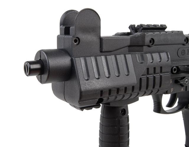 Bild Nr. 03 Ekol ASI mit Klappschaft Schreckschuss-Maschinenpistole