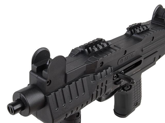 Bild Nr. 04 Ekol ASI mit Klappschaft Schreckschuss-Maschinenpistole