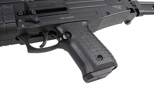 Bild Nr. 06 Ekol ASI mit Klappschaft Schreckschuss-Maschinenpistole