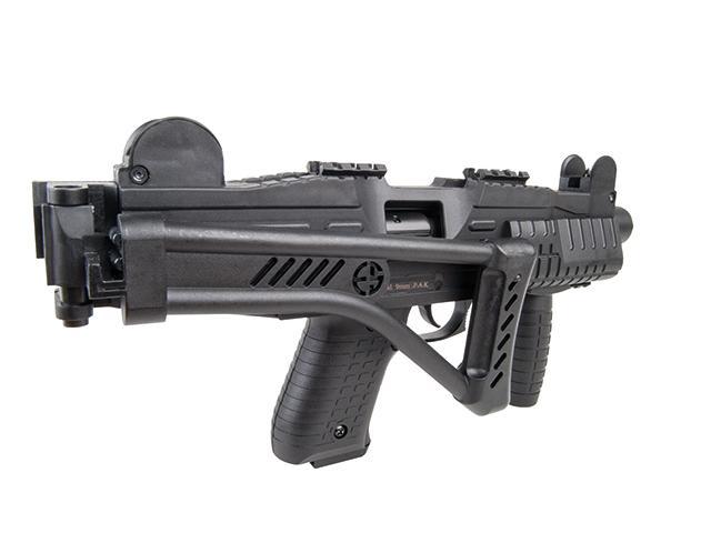 Bild Nr. 08 Ekol ASI mit Klappschaft Schreckschuss-Maschinenpistole