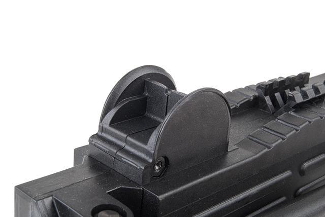 Bild Nr. 09 Ekol ASI mit Klappschaft Schreckschuss-Maschinenpistole