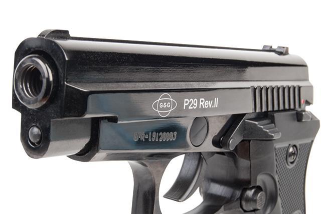Bild Pistole Ekol P29 Rev. II Schreckschusspistole 9mm Abb. Nr. 03