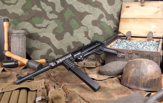 Bild Maschinenpistole GSG MP40 9mm P.A.K. Abb. Nr. 13