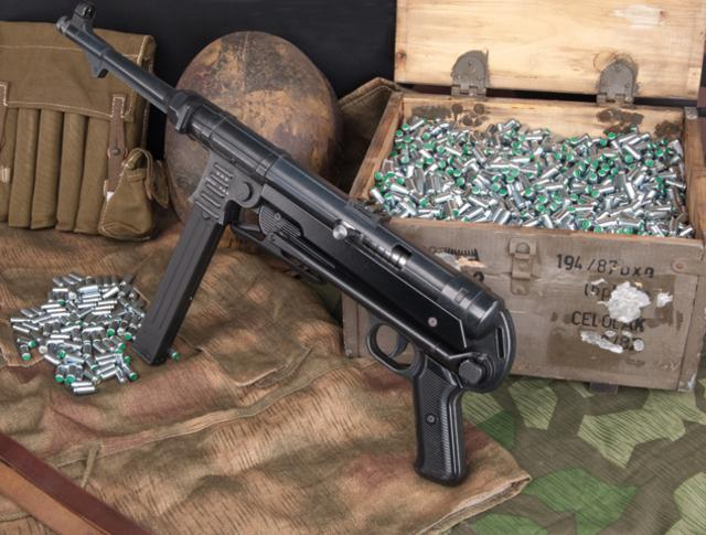 Bild Maschinenpistole GSG MP40 9mm P.A.K. Abb. Nr. 14