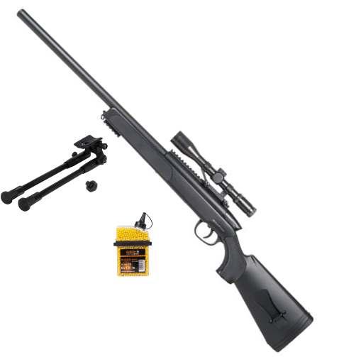 Bild SET GSG SR-2 Sniper Scharfschützengewehr 6mmBB SoftAir Zweibein Abb. Nr. 1