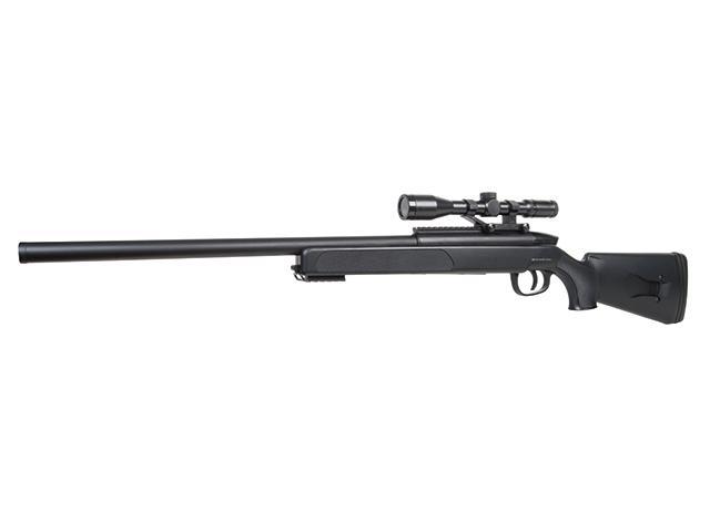 Bild Nr. 02 SET GSG SR-2 Sniper Scharfschützengewehr 6mmBB SoftAir Zweibein