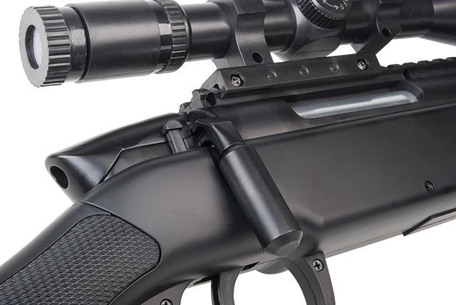 Bild Nr. 06 SET GSG SR-2 Sniper Scharfschützengewehr 6mmBB SoftAir Zweibein